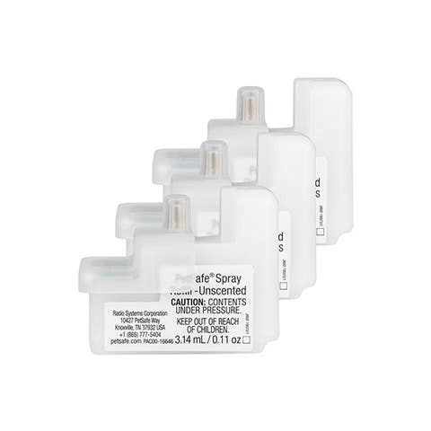 PetSafe Spray Collar Refill Cartridge - Unscented - 3 Pack - PAC54-16651