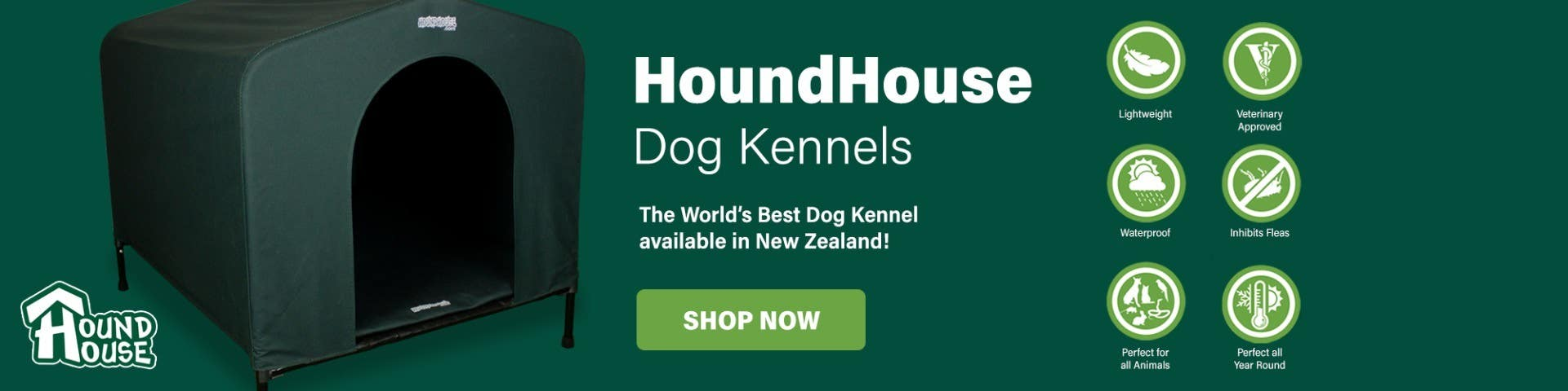 HoundHouse Dog Kennels