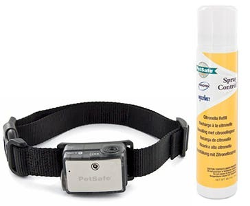Citronella spray collar for large dogs