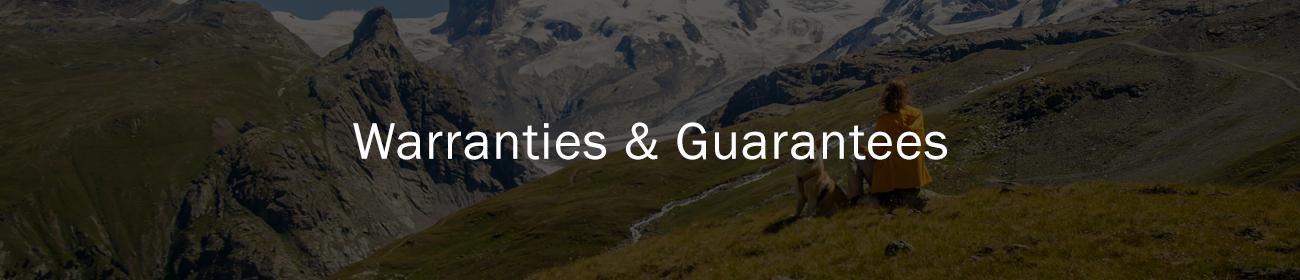 K9 Control Warranties and Guarantees